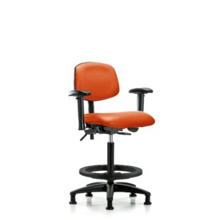 Astrid Ergonomic Drafting Chair by Symple Stuff