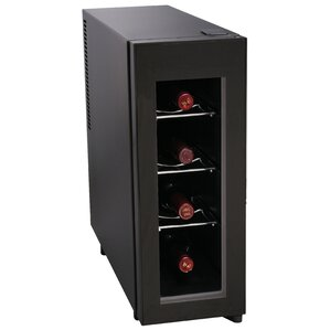 4 Bottle Single Zone Freestanding Wine..