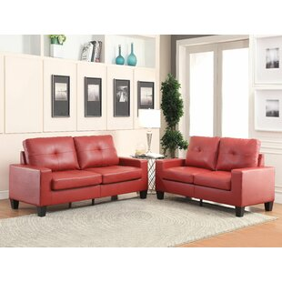 Clearance Richardo 2 Piece Living Room Set by Andrew Home Studio Reviews (2019) & Buyer's Guide