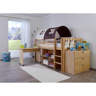 Giordano European Single Mid Sleeper Bed With Furniture Set By Zoomie Kids