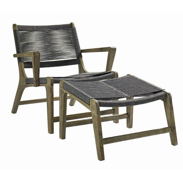 SeasonalLiving 2 Piece Oceans Outdoor Lounge Patio Chair Set | Wayfair