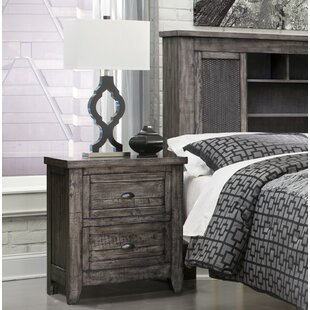 Union Rustic Roberson 3 Drawer Nightstand