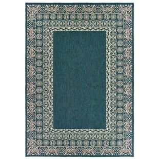 Louison Casual Blue Indoor/Outdoor Area Rug