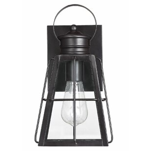 Breakwater Bay Carli LED Outdoor Wall Lantern