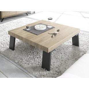 Riehl Coffee Table With Iron Legs By Mercury Row