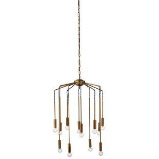 Didomenico 12-Light Cluster Pendant by Corrigan Studio