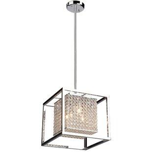 Orren Ellis Kasia 4-Light Square/Rectangle Chandelier