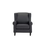 Surprising Garbo Leather Wingback Wayfair Machost Co Dining Chair Design Ideas Machostcouk
