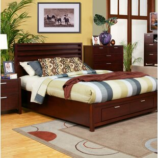 Amaryllis Platform Bed with Storage