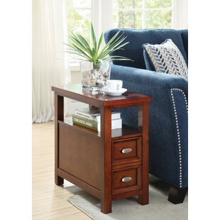 Kring End Table with Storage b..