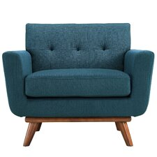 Modern Arm Chair modern blue accent chairs | allmodern