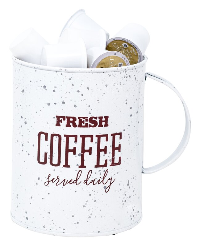 Boston Warehouse Trading Corp 20-Pod Fresh Coffee Served Daily Kup Keeper Coffee Pod Storage