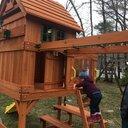 Backyard Discovery Springboro All Cedar Swing Set ...