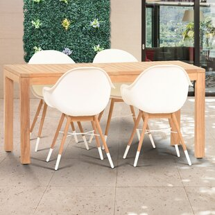 Corrigan Studio Cossette 5 Piece Dining Set