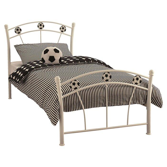 Just Kids Football Single Bed Wayfair Co Uk
