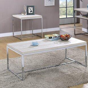 Orren Ellis Mackelprang 2 Piece Coffee Table Set