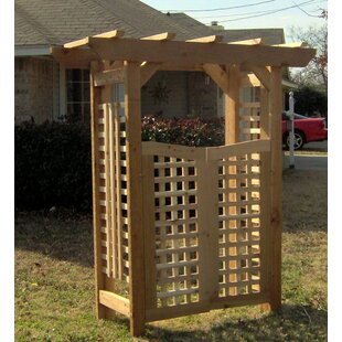 Threeman Products Deluxe Classic Wood Arbor with Gate