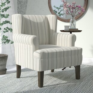 Laurel Foundry Modern Farmhouse London Rolled Wing back Chair