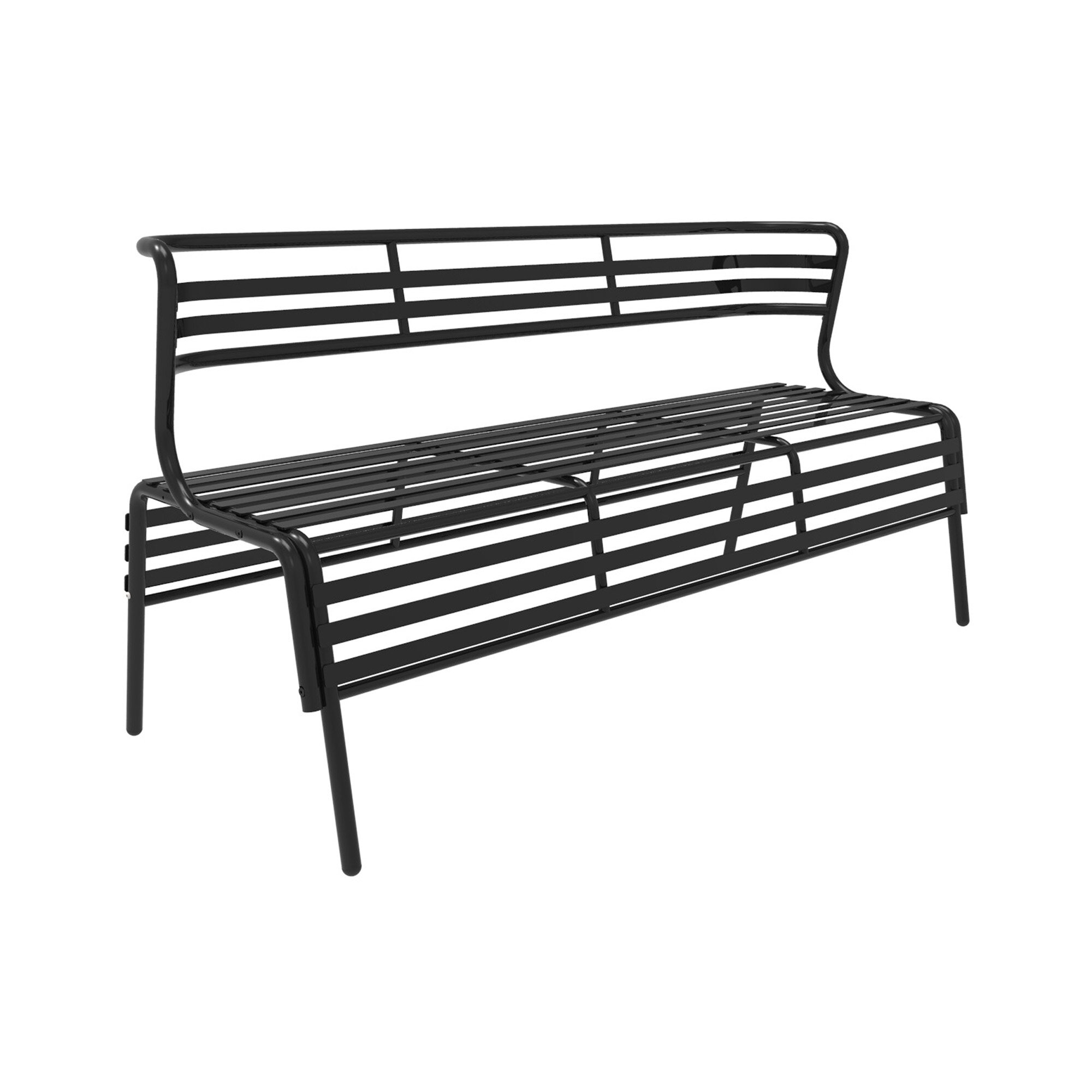 Swell Dasilva Steel Garden Bench Andrewgaddart Wooden Chair Designs For Living Room Andrewgaddartcom