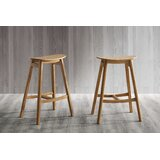 Syrine Solid Wood Bar & Counter Stool (Set of 2) by Brayden Studio®