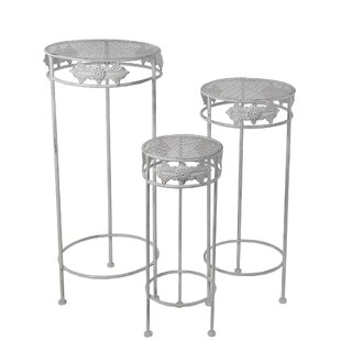 Sudhir Iron 3 Piece Nesting Plant Stand Set by Ophelia & Co.