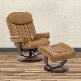 Reviews Bloomfield Manual Swivel Recliner with Ottoman by Brayden Studio Reviews (2019) & Buyer's Guide