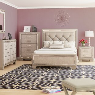 Rosdorf Park Domenick Full Platform Configurable Bedroom Set