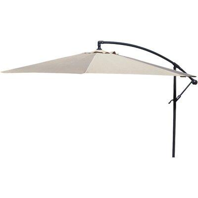 Brayden Studio Trotman 10' Cantilever Umbrella Fabric: Natural