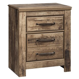 Petersfield 2 Drawer Nightstand