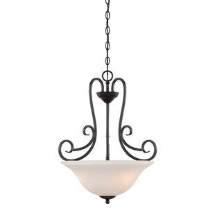 Designers Fountain Addison 3-Light Bowl Pendant