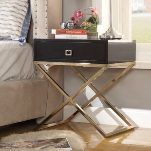 Marianna End Table by Everly Quinn