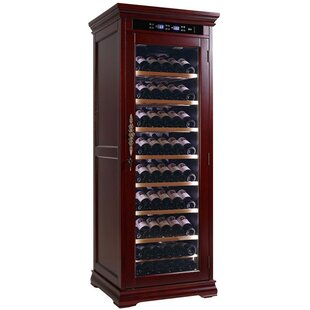 Rochester Electronic Controlled 146 Bottle Floor Wine Cabinet by Darby Home Co