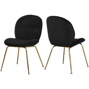 Bhreatnach Upholstered Dining Chair (Set of 2)