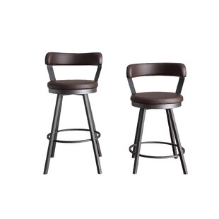 Sevenoaks 29 Swivel Bar Stool (Set of 2)