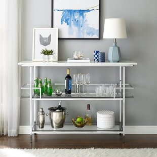 Nantucket Bar Cart by Rosdorf Park