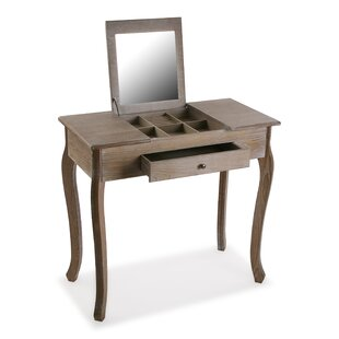 Aryan Dressing Table With Mirror By Longshore Tides