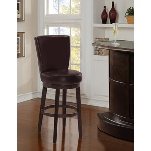 Sloat Upholstered 30 Swivel Bar Stool