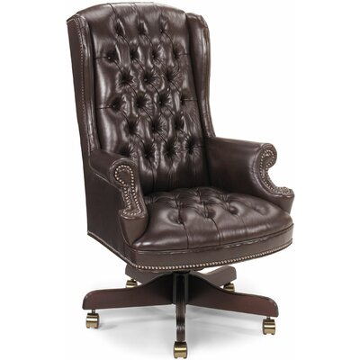 Luxury Brown Desk Chairs Perigold
