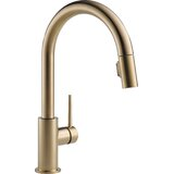 Trinsic Pull Down Single Handle Kitchen Faucet with MagnaTite? Docking and Diamond Seal Technology