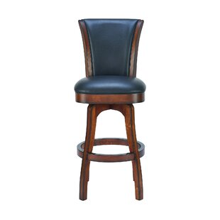 Shockley 30 Swivel Bar Stool by Alcott Hill