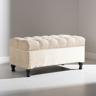Naomi Upholstered Storage Bench by Jennifer Taylor