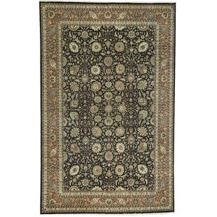 Searching for One-of-a-Kind Brookhaven Handwoven 11'7 x 17'9 Beige/Black Area Rug ByBokara Rug Co., Inc.