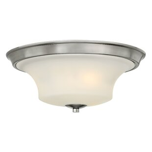 Red Barrel Studio Lurganville 3-Light LED Flush Mount