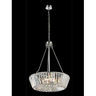 House of Hampton Dunham 5-Light Crystal Chandelier