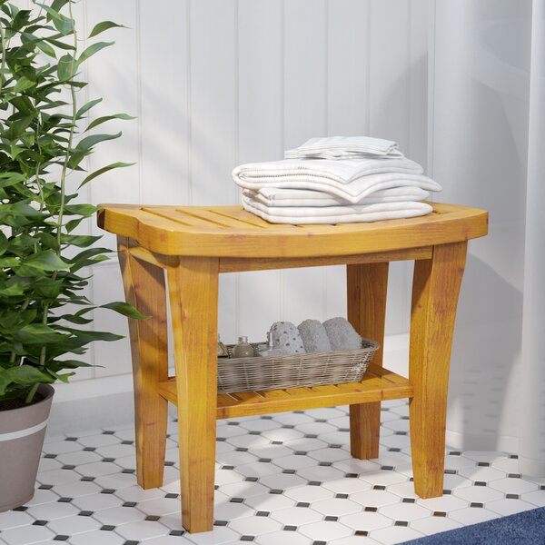 Stupendous Small White Bathroom Bench Wayfair Andrewgaddart Wooden Chair Designs For Living Room Andrewgaddartcom