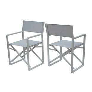 Galster Folding Director Chair by Latitude Run