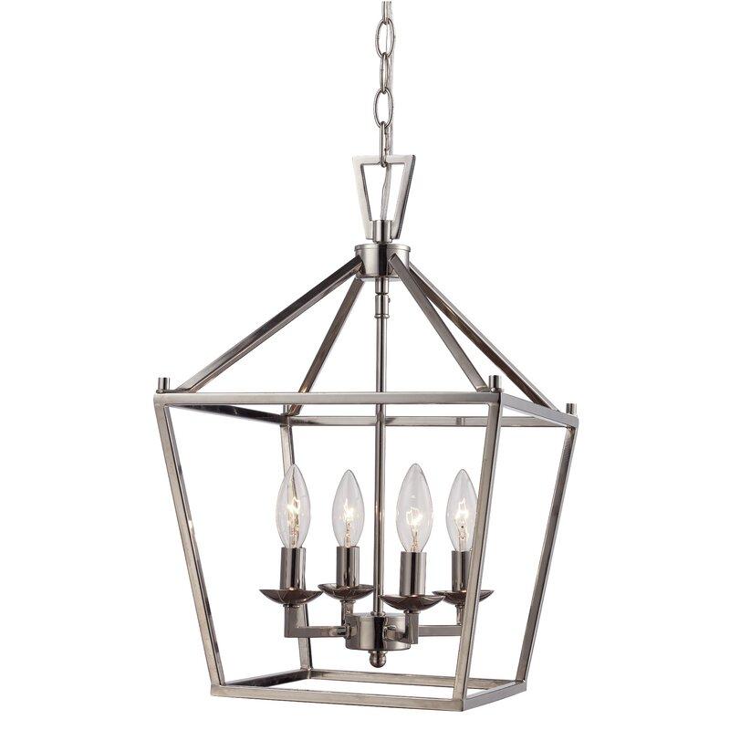 Roy 4 - Light Lantern Geometric Pendant
