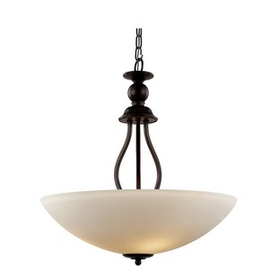 Red Barrel Studio Willowbrook 3-Light Bowl Pendant