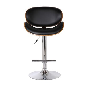 Container Adjustable Height Swivel Bar Stool