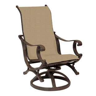 Rialto Sling Swivel Rocking Chair